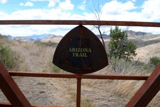Cattle gate.
