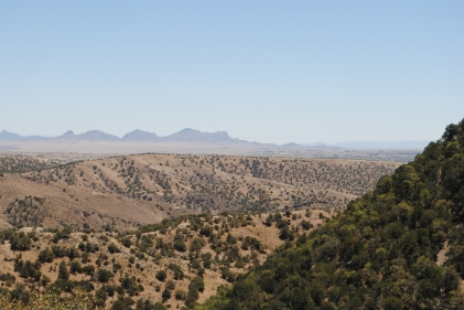 Looking out towards Sonoita, I think.