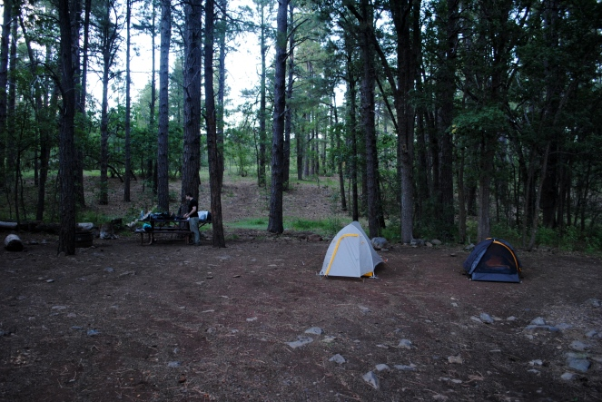 Double Springs campsite
